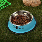 CF2A D230 Pet Dish Cat feed Pet Feeding Bowl Water Bowl Stainless Steel Colorful