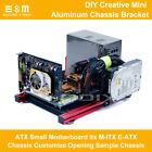 ATX MATX ITX EATX Motherboard Overclock Open Aluminum Frame Test Bench Air Case