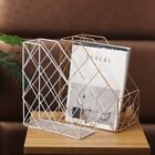 Iron Storage Rack Ornaments Newspaper Book Storage Rack Home Decor 3 Color Gifts