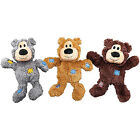 KONG WILD KNOTS BEAR ASSORTED COLOURS cute DOG TOY