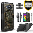 For Galaxy J7 Neo J701M Phone Case, Shockproof Cover+Screen Protector+Stylus