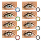 Внешний вид - 1 Pair Natural Plain Glass Contact Lenses Makeup Beauty Eyewear Cosmetics