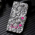 For Nokia 2.1 3.1 5.1 6.1 X5 X6 7 Plus 3D Painted Leather Flip Wallet Case Cover