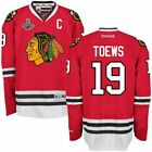 Chicago Blackhawks 19 Jonathan Toews Jersey2015 Championship Patch Red