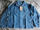 Ladies 100% polyester (fleece) bed jacket in blue or pink in 2 sizes