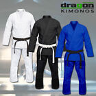DRAGON MMA Grappling Brazilian Jiu Jitsu Gi Full Blank BJJ Uniform Martial Arts
