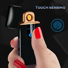 Electric Lighter Smart Touch Sensor USB Rechargeable  Flameless Plasma Lighters