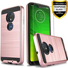 For REVVLRY / REVVL 2 / + PLUS / ALCATEL 7 Case Cover +Tempered Glass Protector