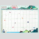 2019 Paper Wall Calendar Office School Daily Planner Note 365 days Plan Schedule