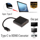 New Portable USB Type C USB-C to 4K HDMI/VGA Adapter Cable For Macbook Laptop LN