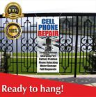 CELL PHONE REPAIR Banner Vinyl / Mesh Banner Sign Flag Screen Damage Diagnostic