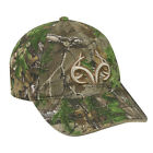 REALTREE Camo Patterns w/ ANTLERS  Max5 Snow APXtra  Xtra Green  Hunting Hat Cap