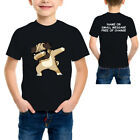 Dabbing Pug Funny Shirt DAB Hip Hop Dog Children Kids Boys Girls T-Shirt  Tee
