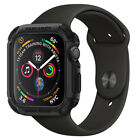 For Apple Watch Series 4 44mm Spigen® [Tough Armor] Shockproof Double Cover Case