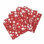 Betty Boop Red White Polka Dot Spots Cotton Dinner Napkins by Roostery Set of 4 $48.0 USD on eBay