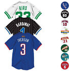 NBA Mitchell & Ness Men's Mesh Crew Neck Name & Number Retro Jersey Collection on eBay