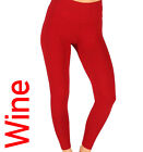 Winter Leggings High Waist Thick Warm Tummy Control Seamless Fleece Sizes 8 - 22