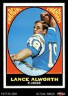 1967 Topps #123 Lance Alworth Chargers EX $36.5 USD on eBay