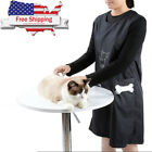 Pet Dog Grooming Apron Waterproof Sleeveless Vest Hair Cut Anti static Clothes
