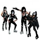 Внешний вид - KISS Boots Costume Shoes Adult KISS Halloween