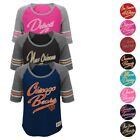 "NFL Outerstuff  Team ""Hi-Lo"" Raglan T-Shirt Collection Girls Youth Size (S-XL) $7.49 USD on eBay"