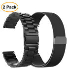 2PCS Band For Samsung Galaxy Watch 46mm / Gear S3 Frontier / Classic Strap Bands image