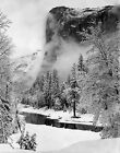 El Capitan, Winter by Ansel Adams