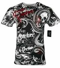XTREME COUTURE by AFFLICTION Men T-Shirt BLACKTOOTH Skull Biker MMA Gym S-4X$40 image