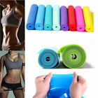 Rubber Elastic Yoga Pilates Resistance Bands Straps Exercise Fitness Stretch image