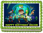 Внешний вид - BEN 10 Party Edible Cake topper image