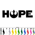 Star Wars Hope Funny Car Sticker Laptop Vinyl Decal Window Bumper Van Decor Gift $1.89 AUD on eBay