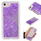 Electroplate Mirror Glitter Bling Sparkly Clear Quicksand Cover Soft TPU Case