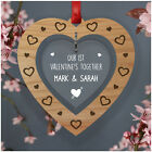First Valentines Together PERSONALISED Valentines Day Gifts for Him Her Couples
