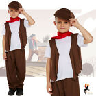 Victorian Boy Chimney Sweep Child Book Week Fancy Dress Costume Kids Outfit
