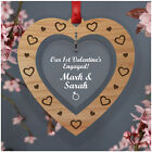 PERSONALISED Valentines Day Gifts for Fiancee Fiance Her 1st Valentines Engaged