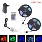 5M RGB 300led strip Light SMD2835 Waterproof Remote Controller+12V Adapter 10M
