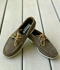 Womens Timberland Classic Boat Shoes Brown Suede Deck Shoes 26608 NEW