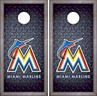 Miami Marlins Cornhole Skin Wrap MLB Luxury Decal Vinyl Sticker DR446 on Ebay