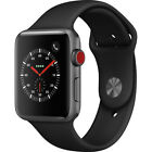 apple watch series 3 smartwatch with gps cellular sports band refurbished