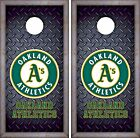 Oakland Athletics Cornhole Skin Wrap MLB  Luxury Decal Vinyl Sticker DR451 on Ebay