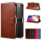 For iPhone X XS XR XS Max 8 Plus PU Leather Wallet Card Flip Stand Cover Case