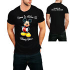 Holiday  Disney Personalised  YOUR NAME is going to America Paris T-shirt