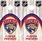 Florida Panthers Cornhole Skin Wrap NHL Wood Decal Art Decor Vinyl Sticker DR486 $39.99 USD on eBay