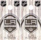 Los Angeles Kings Cornhole Skin Wrap NHL Wood Decal Decor Vinyl Sticker DR488 $39.99 USD on eBay