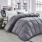 GOOSE DOWN ALTERNATIVE SUPERSOFT LUXURY COMFORTER KING QUEEN FULL Size, 11 Color image