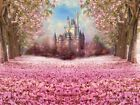 Photography Backdrop Castle Wood Children Photo Booth Background Flower Spring