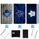 Toronto Maple Leafs Passport Holder Leather Cover Cards ID Travel Wallet $4.99 USD on eBay