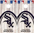 Chicago White Sox Cornhole Skin Wrap MLB Game Decal Vinyl Sticker Logo DR529 on Ebay