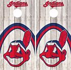 Cleveland Indians Cornhole Skin Wrap MLB Baseball Wood Decal Vinyl Sticker DR532 on Ebay