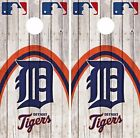 Detroit Tigers Cornhole Skin Wrap MLB Game Wood Decal Vinyl Sticker Logo DR537 on Ebay